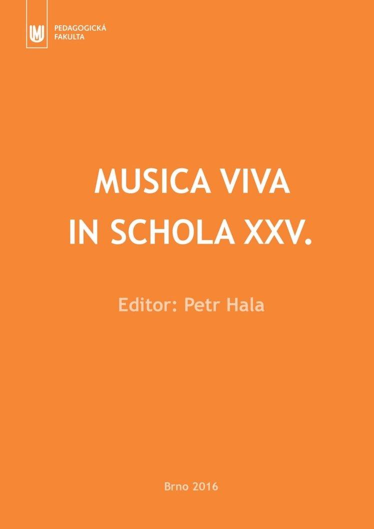 Musica viva in schola XXV.