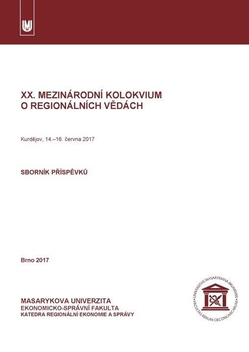 XX. mezinárodní kolokvium o regionálních vědách