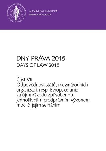 Dny práva 2015 – část VII.
