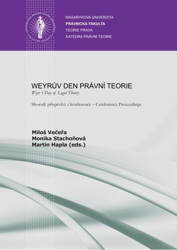 Weyrův den právní teorie – Weyr 's Day of Legal Theory
