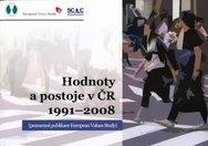 Hodnoty a postoje v ČR 1991-2008 (pramenná publikace European Values Study)