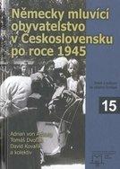 Německy mluvící obyvatelstvo v Československu po roce 1945