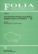 Terrestrial Invertebrates of the Pálava Biosphere Reserve of UNESCO III