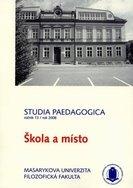 Sborník prací Filozofické fakulty brněnské univerzity. U. Řada pedagogická. 13