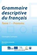 Grammaire descriptive du français