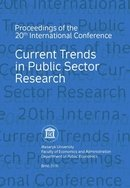 Current Trends in Public Sector Research