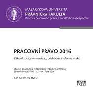 Pracovní právo 2016